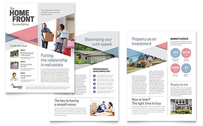 Realtor Marketing Newsletter