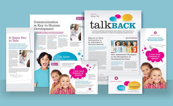 Speech Therapy - Marketing Materials