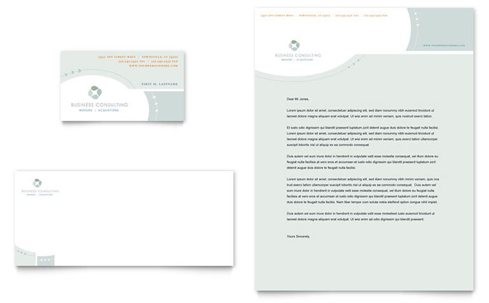 Stationery Design - Business Consulting