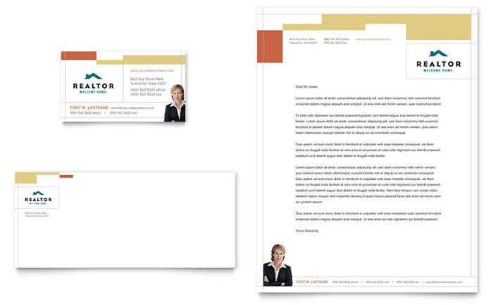 Stationery Design - Real Estate Agent