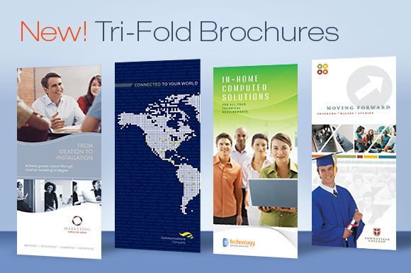 DTG Magazine Presents Tri Fold Brochure Design Templates