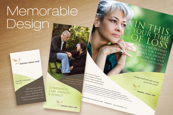 Create Inspirational Materials For Funeral And Memorial Services