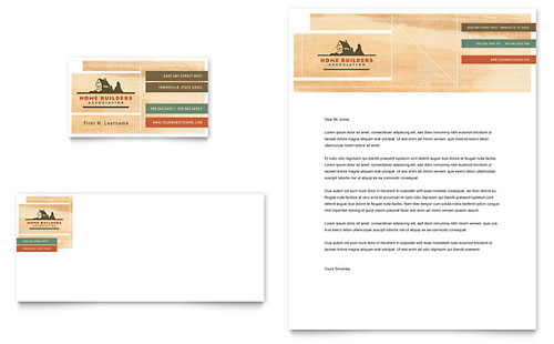 Home Builders & Construction Brochure Template Design