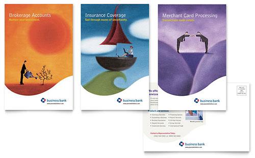 Business Bank Marketing Materials