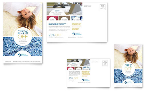 Carpet Cleaners Flyer & Ad Template Design