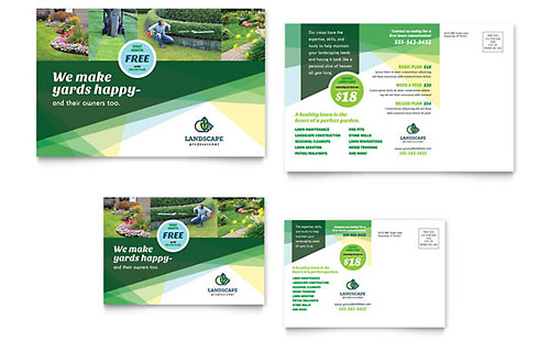 Agriculture & Farming Marketing Brochures Flyers