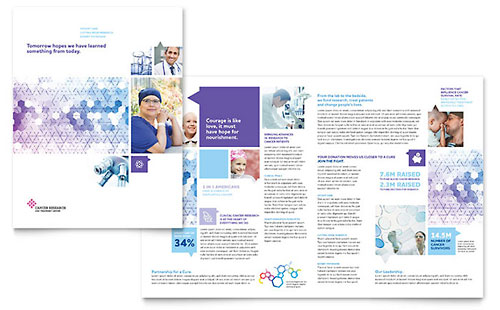 Medical & Health Care Brochures Templates & Design Examples