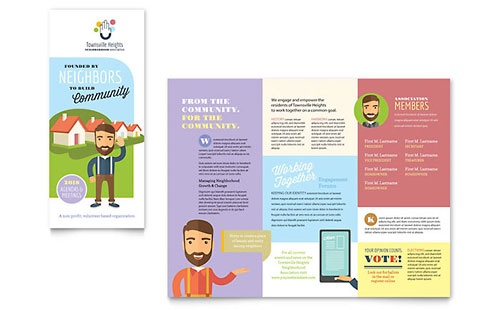 Non Profit Marketing Brochures Flyers Newsletters