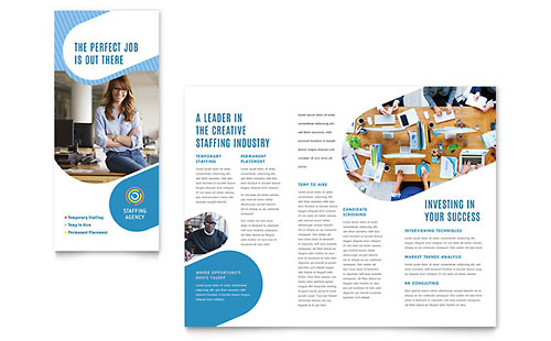 Human Resources Pamphlets Templates & Graphic Designs