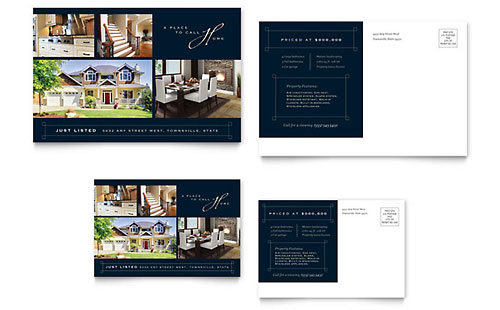 Real Estate Marketing Brochures Flyers Postcards