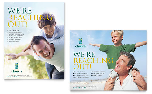 Church Marketing Brochures Flyers Newsletters Postcards