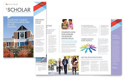 free school newsletter templates elementary