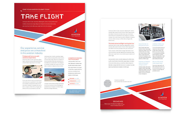 Datasheet Example - Aviation Flight Instructor