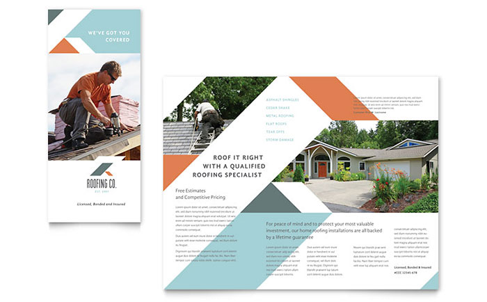 Construction Marketing - Brochures, Flyers, Postcards
