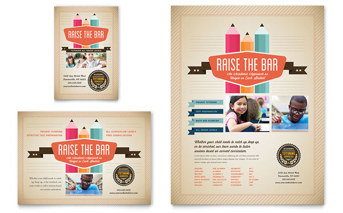 Tutoring Services Flyer Design