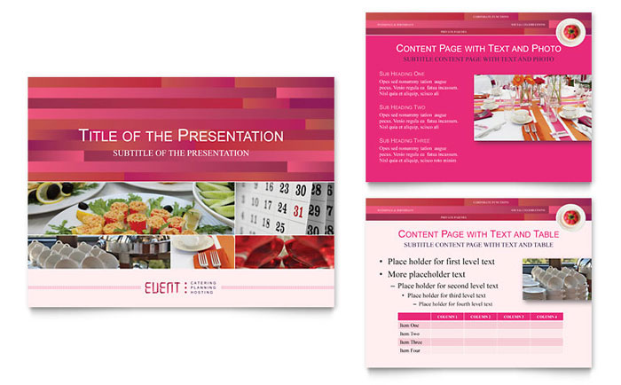 Corporate Event Planner & Caterer PowerPoint Presentation