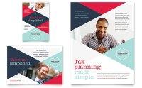 Tax Preparer Flyer & Ad Template Design