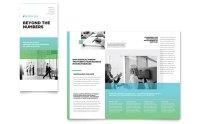 Auditing Firm Tri Fold Brochure Template Design