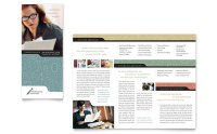 Bookkeeping & Accounting Services Tri Fold Brochure ...
