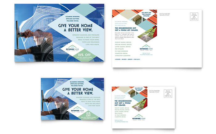 cleaning business flyers examples