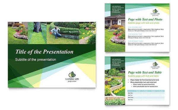 landscaper powerpoint presentation