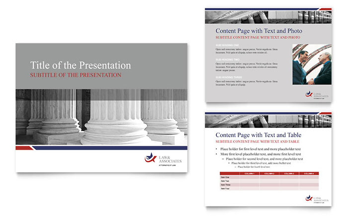 Legal & Government Services PowerPoint Presentation