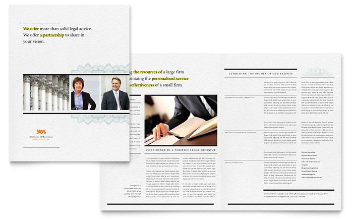 Attorney Brochure Example
