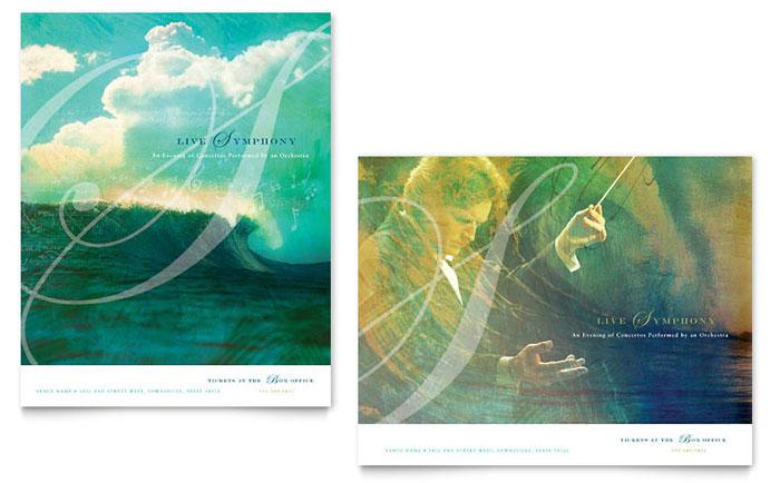 concert program designs