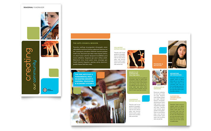 Educational Brochure Templates Ideal Vistalist Co