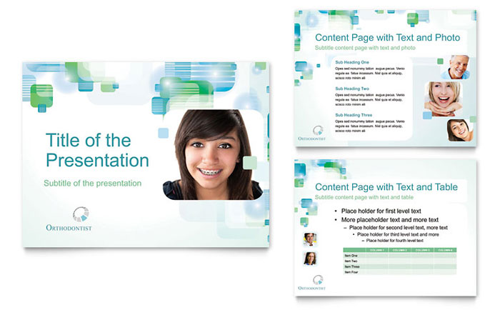 Orthodontist Presentation Design