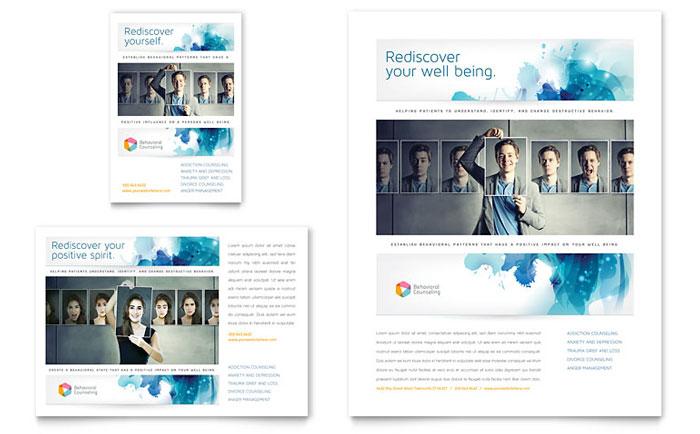 Flyer & Ads Sample - Behavioral Counseling