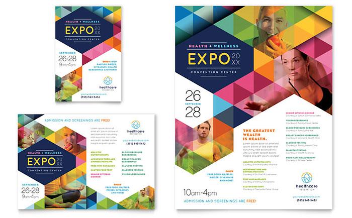 Health Fair Flyer & Ad Sample