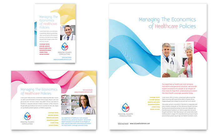 Insurance Consulting Flyer & Ad Template Design