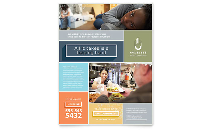 Non Profit Flyers Templates & Design Examples