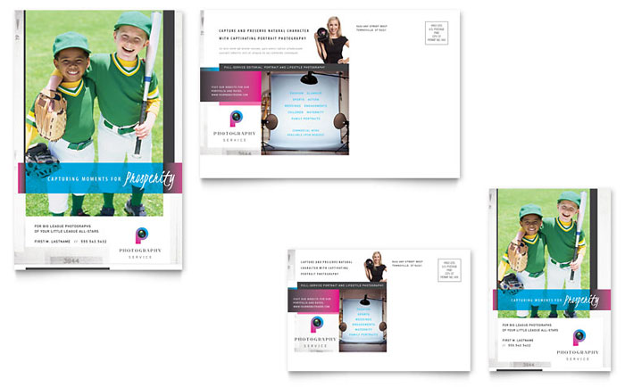 Photography Business Postcard Design