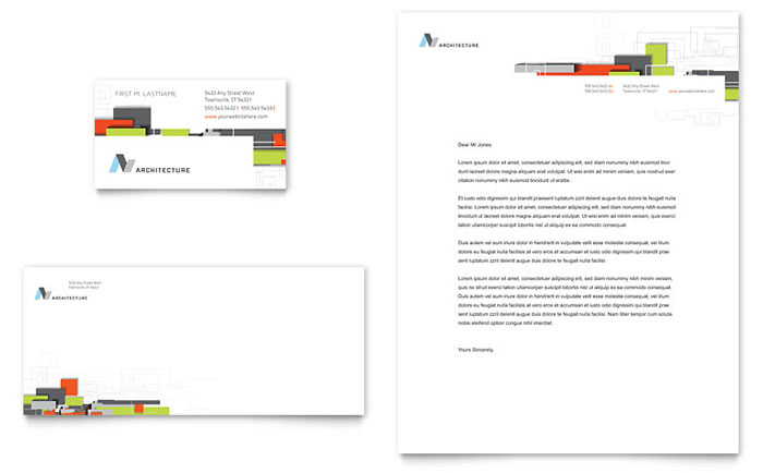 Stationery Sample - Architectural Design