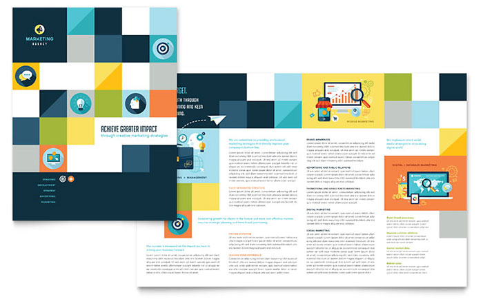 Professional Services Brochures Templates & Design Examples