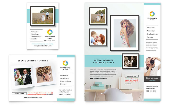 Photographer Marketing Flyer & Ads
