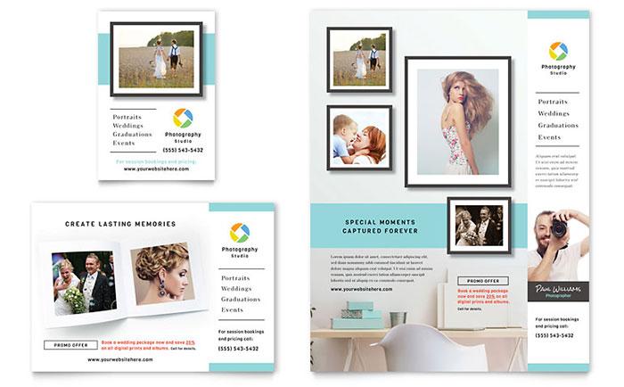 free print ad template
