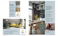 Interior Design Flyer & Ad Template Design