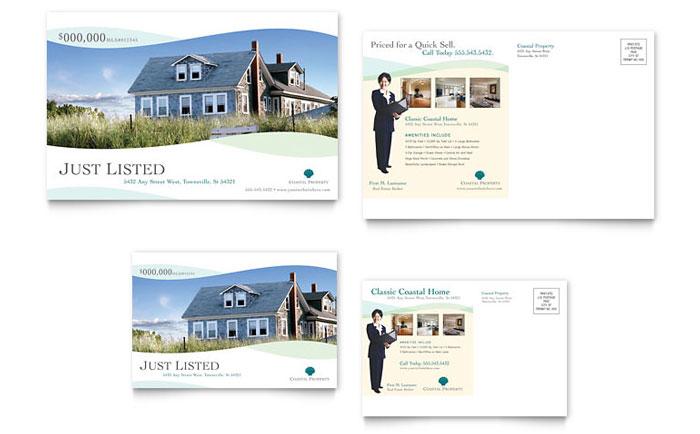 Postcard Sample - Coastal Real Estate