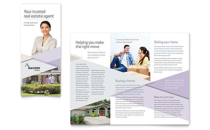 Realtor Brochure Template Design