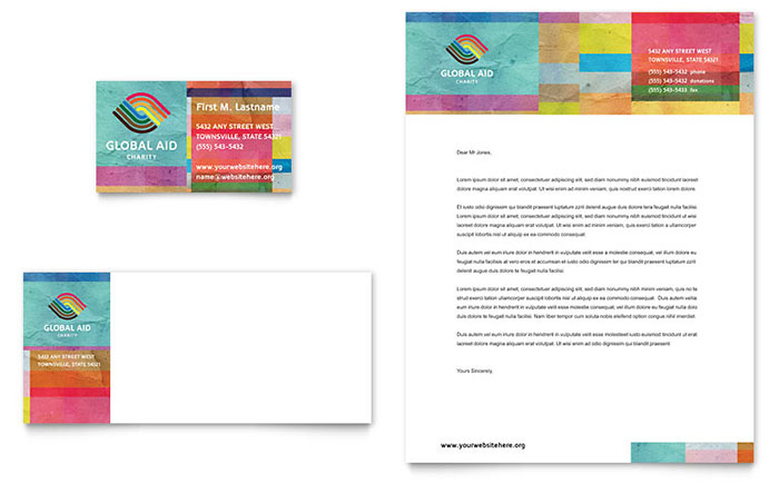 Marketing materials for a nonprofit humanitarian aid organization nonprofit humanitarian aid letterhead spiritdancerdesigns Images