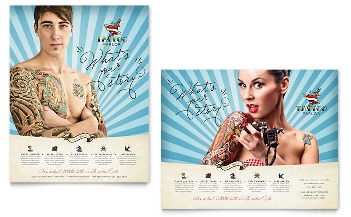 Tattoo Artist Poster Design