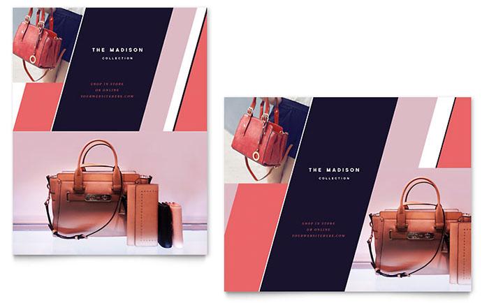 Designer Handbags Sale Poster