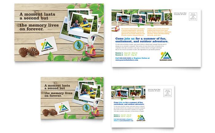 Kids Summer Camp Brochure Template Design