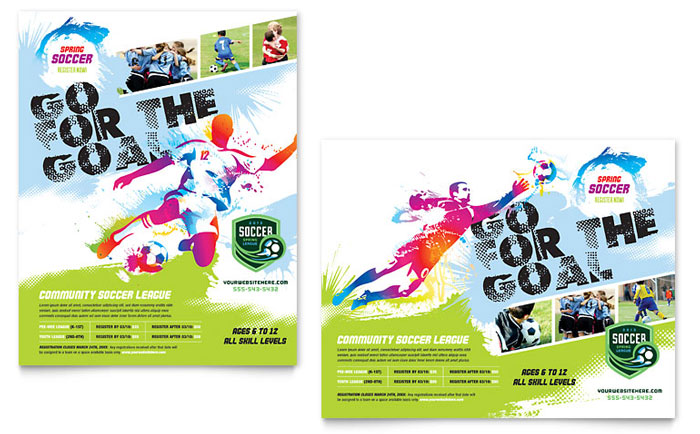 Youth Soccer Poster Design