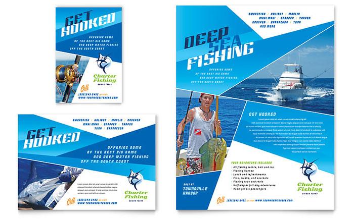 Charter Fishing - Flyer & Ad Design