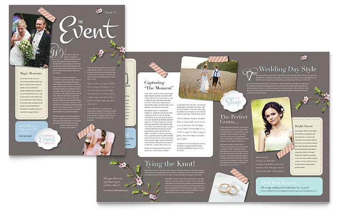 Wedding Planner - Newsletter Design