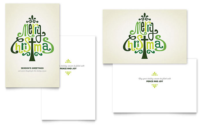 Contemporary Christian Greeting Card Design